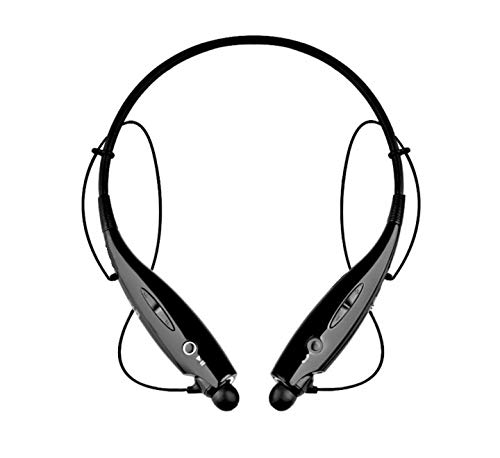 Teconica LBS-747 Sports Wireless Bluetooth Headphones Neckband Handsfree Calling Sport Stereo Headset Compatible with All Android, Windows and iOS Mobile Phone {Random Colour}