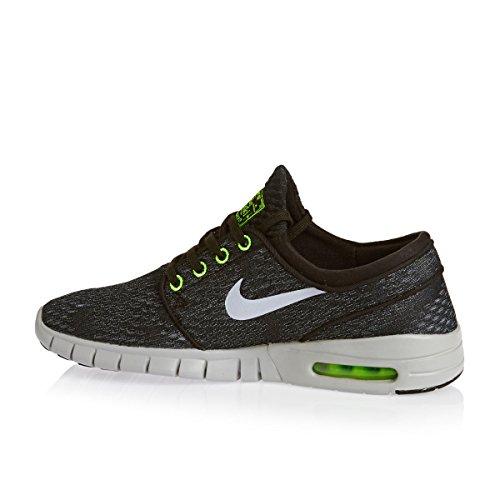 Nike - 631303-100 - Chaussures De Planche À Roulettes Black/wolf grey-wolf grey-flesh lime