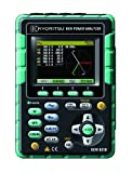 Analizador de Metro Kyoritsu 6310-05 Calidad de Energía con 200A carga de sujeción del sensor de corriente, 100 VCA
