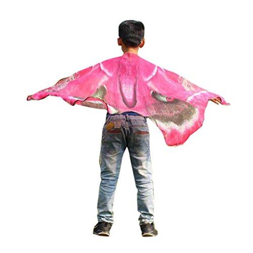 Schmetterling Kostüm, Dasongff Kind Kinder Jungen Mädchen schmetterlingsflügel -