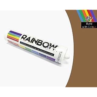 Rainbow Ral Farbig Silikone Braun Beige Abdichten Mastix Dichtstoff RAL1011 300ml