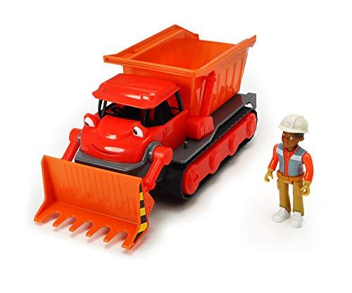 Dickie Toys - 203134002 Bob der Baumeister Buddel Spielset, Bagger mit Freilauf und Sprachausgabe