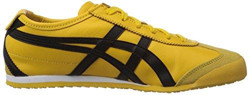 Mista Adulto Colore Mexico 490 Tiger giallo Di Scarpe Nero Giallo 66 Da Ginnastica Basso Onistuka x108SZ