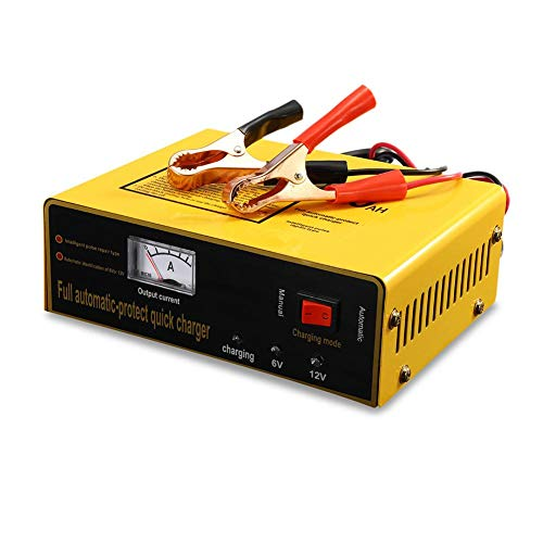 Feiledi commercio battery charger & Maintainer, universale AC110 - 250 V a DC 6/12 V 80 Ah 140 W Automatic Intelligent Auto carica batterie Full automatic-protect caricabatterie rapido con display LCD