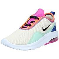 Nike Air Max Motion 2 Es1 Women's Athletic & Outdoor Shoes, Multicolour (Fossil/Black-Pistachio Frost-Hyper Blue), 38 EU