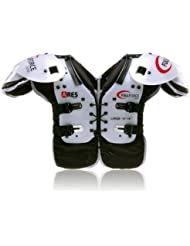Full Force Wear Football américain Ares Youth Multi Position lb/RB/OL/DL Shou lderpad, Taille S–2x L