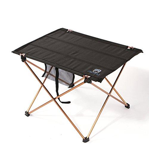 SUNRIS Table de Bureau Pliante Portable Alliage d'aluminium Ultra-léger Table Pliable Durable Barbecue Bureau pour Camping Pique-Nique Activité de Plein air