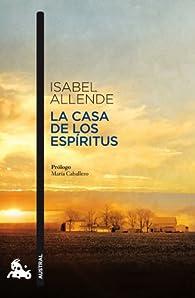 La casa de los espíritus par Isabel Allende
