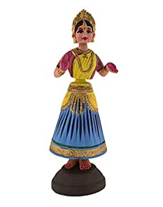 TheHandicraft Store Wooden Dancing Doll Ethnic Gifting Wooden Handicraft (Wooden)