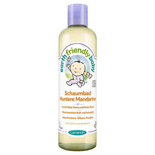 Earth Friendly Baby 82210 Schaumbad Muntere Mandarine, 300 ml