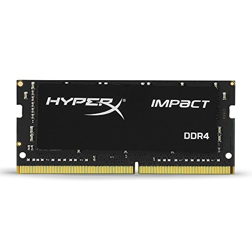 HyperX Kingston Technology Impact 16GB 2666 MHz DDR4 CL15 260-Pin Sodimm Laptop Memory Memory at amazon