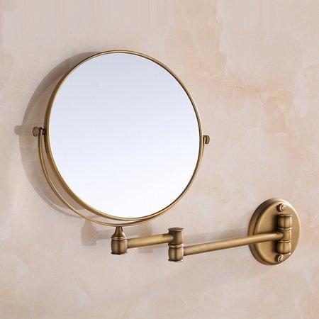 Ohcde Dheark Design Élégant, Hot Sale De Bains Miroir De Multiples Couleurs Murales,Laiton Antique