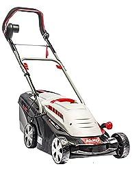 AL-KO Elektro-Rasenmäher 34 E Comfort (34 cm Schnittbreite, 1.200 W Motorleistung, für Rasenflächen bis 300 m², Schnitthöhe 6-fach verstellbar, 37 l Fangkorb)