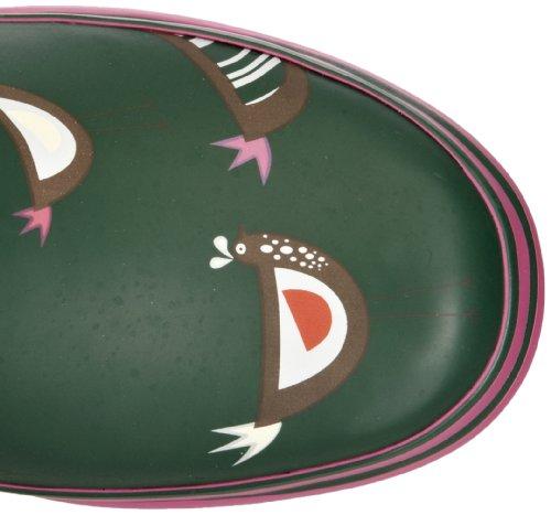 Evercreatures Chicken Tall, Bottes En Caoutchouc Femmes Vert (vert - Vert)