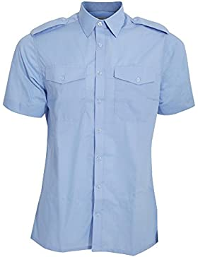 Kustom Kit Camicia a Maniche Corte - Uomo