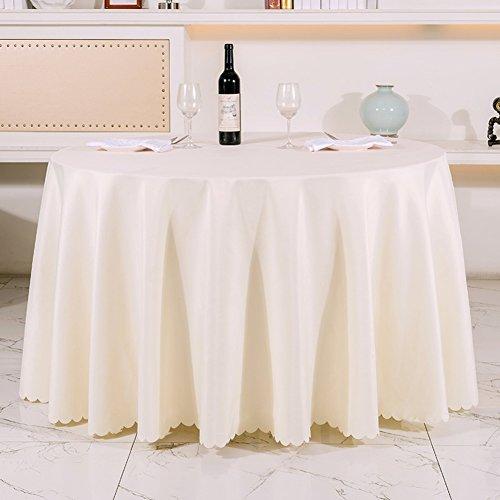 Very good KHotel Tischdecken Runden Tischdecke,Dickes Reines Schwarzem Tisch Tuch,Tischdecke Stoff Hochzeitshotel-O 120x180cm(47x71inch)
