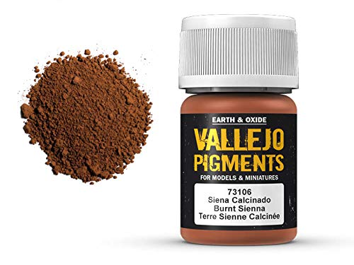 Vallejo Pigments 73106 Burnt Sienna (35ml) -