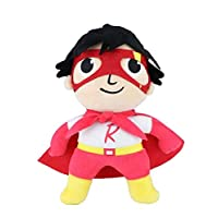 Ryan's World, Super Hero, Medium Plush