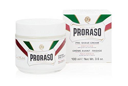 Proraso Anti-Reizungsrasiercreme vor und nach der Rasur (100ml)