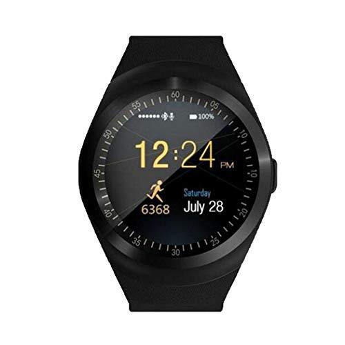 GUIGSI Smart Watch Donna Uomo Orologio Smartwatch Android Orologio Intelligente Resistente Phone Watch Sport Tracker di Fitness Supporto SIM Card TF Card