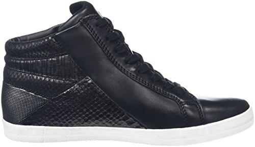 Gabor Comfort Basic, Sneakers Hautes Femme Noir (Schwarz/Micro 57)