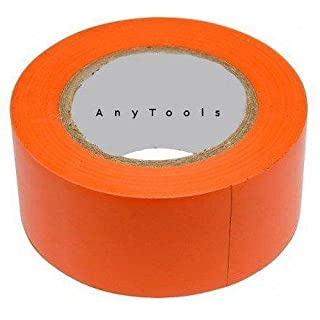 Klebeband PVC 30mm x 33m orange rückstandsfrei