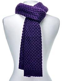 Noble Mount Mens Premium Weave Pattern Scarf - 7 Colors