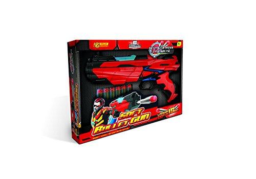 Villa Giocattoli Pistola con Luci Soft Bullet Gun, 29 cm, 9930