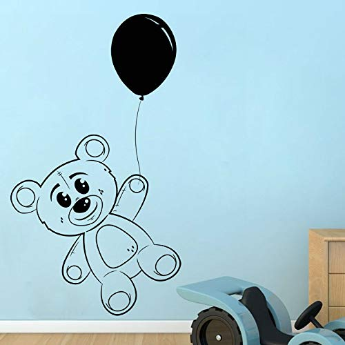d Teddybär Wandaufkleber Baby Room Removable Vinyl Spielzeug Wandtattoo Kinder Wandaufkleber Hause D57 cm X 44 cm ()