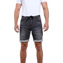 Riverso Herren Jogg Jeans Shorts 'Fred' Bermuda Sweathose Kurze Hose für Sommer