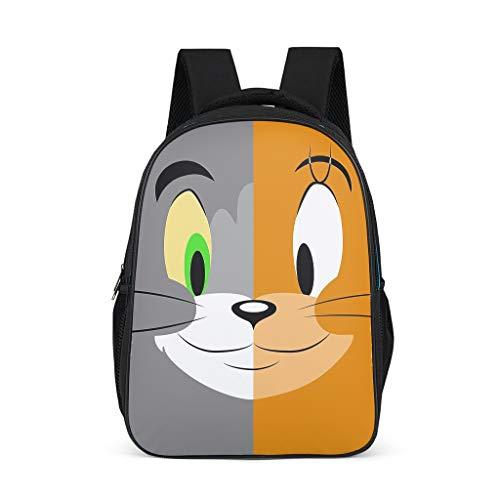 Copripiumino Tom E Jerry.Fanaxii Anime Sac A Dos Pour Enfant Tom Et Jerry Gris Gris Taille Unique