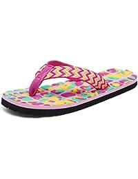 Flip Flops Für Frauen Rutschfeste Sommer Strand Hausschuhe Große Größe Extra Breite Plattform Thong Sandalen,Red,39
