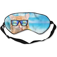 Comfortable Sleep Eyes Masks Funny Drink Cat Pattern Sleeping Mask For Travelling, Night Noon Nap, Mediation Or... preisvergleich bei billige-tabletten.eu