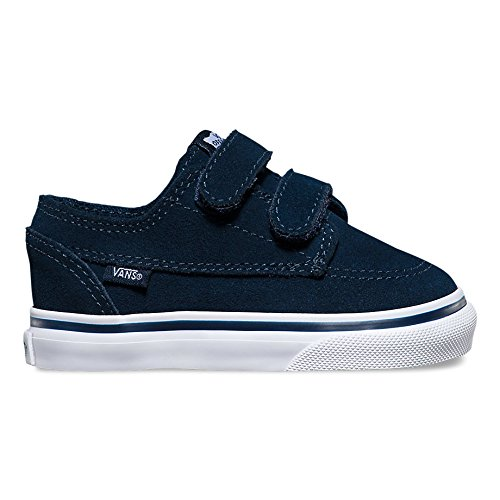 Sneaker Vans Vans Toddler Brigata V (suede) dress blues/true white Fall Winter 2016 - 4.5C