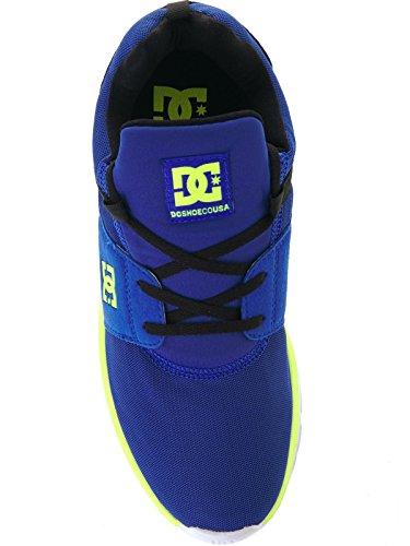 DC Heathrow M Herren Sneakers Blue - Black - Yellow