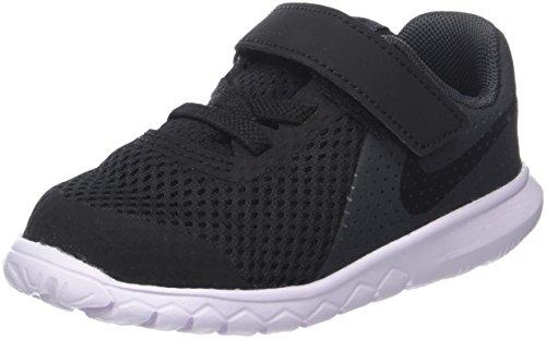 Nike Flex Experience 5 (TDV) Sportschuhe, Baby, Schwarz, 23 1/2 (Nike Kleinkinder Mädchen Schuhe)