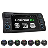XOMAX XM-70BA Autoradio con Android 8.1 adatto per BMW I Quad Core, 2GB RAM, 16GB ROM I Navigatore GPS I Supporto WIFI, 4G, DAB, OBD2 I Bluetooth I Touch Screen 7'' I DVD, CD, USB, SD, RDS