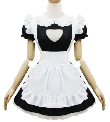Lolita Super Cute Kitty Schürze Sexy Kleid-Leistungs-Cosplay Kostüm nach (Cute Kostüme Kitty)