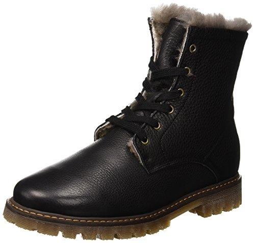 Bisgaard Unisex-Kinder 51917218 Combat Boots, Schwarz (204 Black), 27 EU (Combat Stiefel Für Kinder, Mädchen)