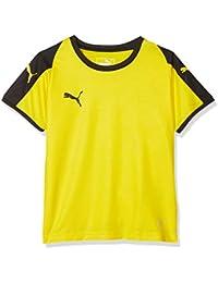 Puma Liga Jersey Jr T-Shirt, Unisex niños, Cyber Yellow/Black,