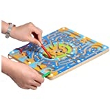 Toy Mazes Pen Magnet for Children,Multi Color