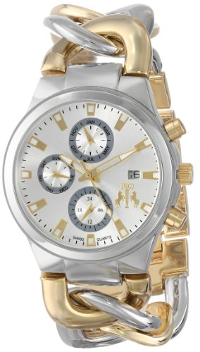 Jivago Women's Swiss Quartz Stainless Steel Casual Watch, Color:Two Tone (Model: JV1221)