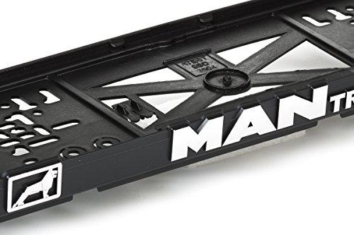 Preisvergleich Produktbild MAN Truck 3D Effekt Lizenz Kennzeichenhalter Nummernschildhalter