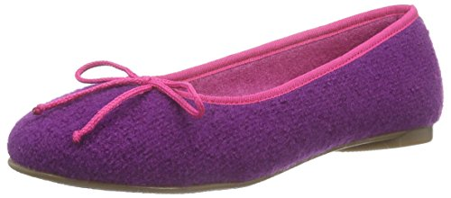 Stegmann Stegmann 403, Ballerines fermées femme Violet - Violett (purple 8961)