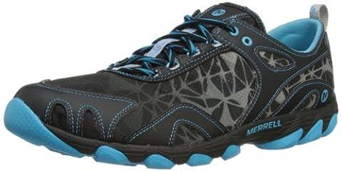 Merrell HURRICANE LACE, Damen Bootsportschuhe, Mehrfarbig (BLACK/HORIZON BLUE), 37 EU (4 Damen UK)