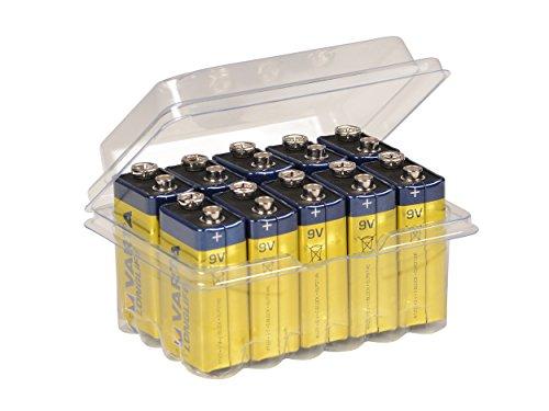 Galleria fotografica Varta 9V Block Longlife 4122 Pile Alcaline Batterie MN1604 6LR61 Alkaline 9 V, 10 Big Box Pack wns-emg-world
