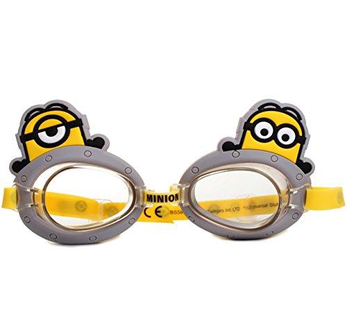 Unbekannt 3-D Effekt _ Schwimmbrille / Chlorbrille / Taucherbrille -  Minions - ich einfach...