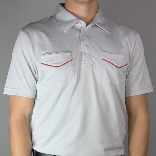 Travis Mathew Richmond Polo (groß, hellgrau) (Mathew Travis Golf)