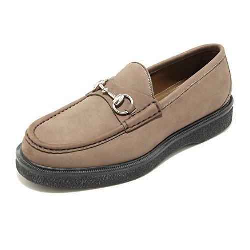 4983G mocassino uomo colore fango GUCCI scarpa loafer shoes men [10]
