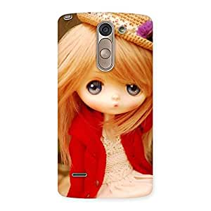 Enticing Tiny Bride Girl Multicolor Back Case Cover for LG G3 Stylus